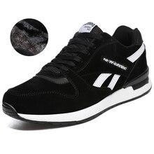 Autumn Winter Men Women Sneakers Black Gray Unisex Running