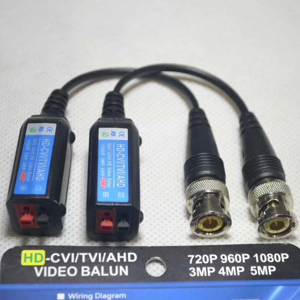 hight resolution of hd bnc video balun 5mp 4mp 3mp 960h 1080p 720p twisted transceivers utp cat5 hd cvi