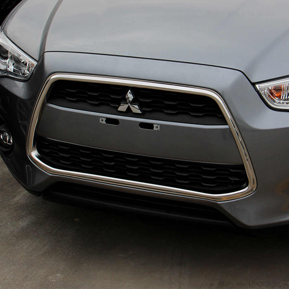Mitsubishi ASX 2012-2016 Avant Grille Cadre Moulage Chrome 6402A313