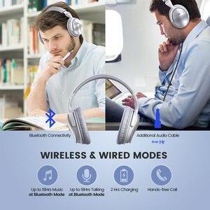 Image 3 - [Versione di Aggiornamento] Originale Mpow H5 Cuffia Bluetooth Attivo con Cancellazione Del Rumore Cuffie Senza Fili con Il Mic per Il Pc Iphone Xiaomi
