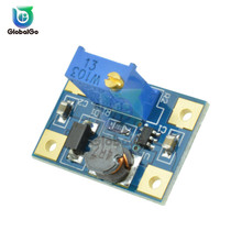 цена на 2-24V to 2-28V 2A DC-DC SX1308 Step-UP Adjustable Power Module Step Up Boost Converter for DIY Kit