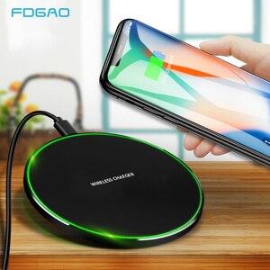 FDGAO 10W Fast Qi Wireless Cha