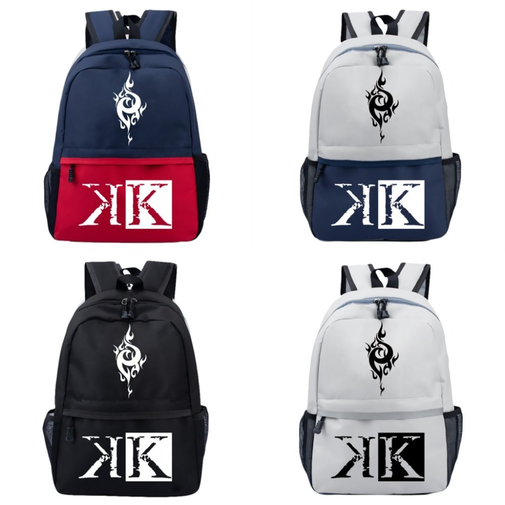 Fashion Backpack Japanese Anime K Cosplay Satchel Teenager Student School Bag Travel Hiking Bnapsack Anime Bag Otaku Gifts