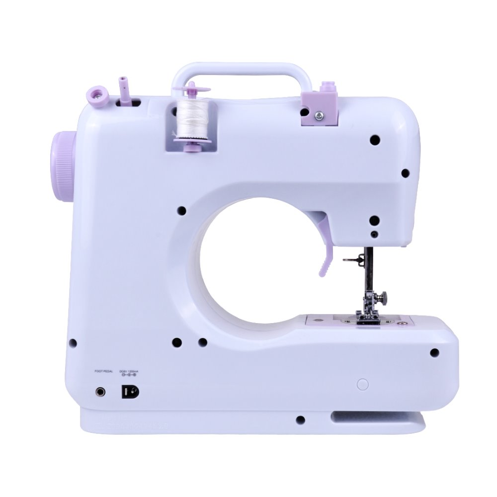 Dewel Mini 12 Stitches Sewing Machine Household Multifunction Double Singer 648 Threading Diagram Thread And Speed Free Arm Crafting Mending In Machines From Home