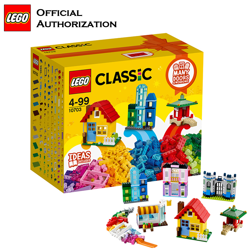 Lego Classic Series 502pcs Building Blocks Box Kids Toy 10703 Free Creative Learning Blocks Building Toys Blocos De Construcao 2018 newest lego blocks building children toy funny lego model building baby starting toys colorful blocos de construcao 10712