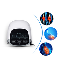 Rheumatoid arthritis laser therapy with LED light heating and airbag massage