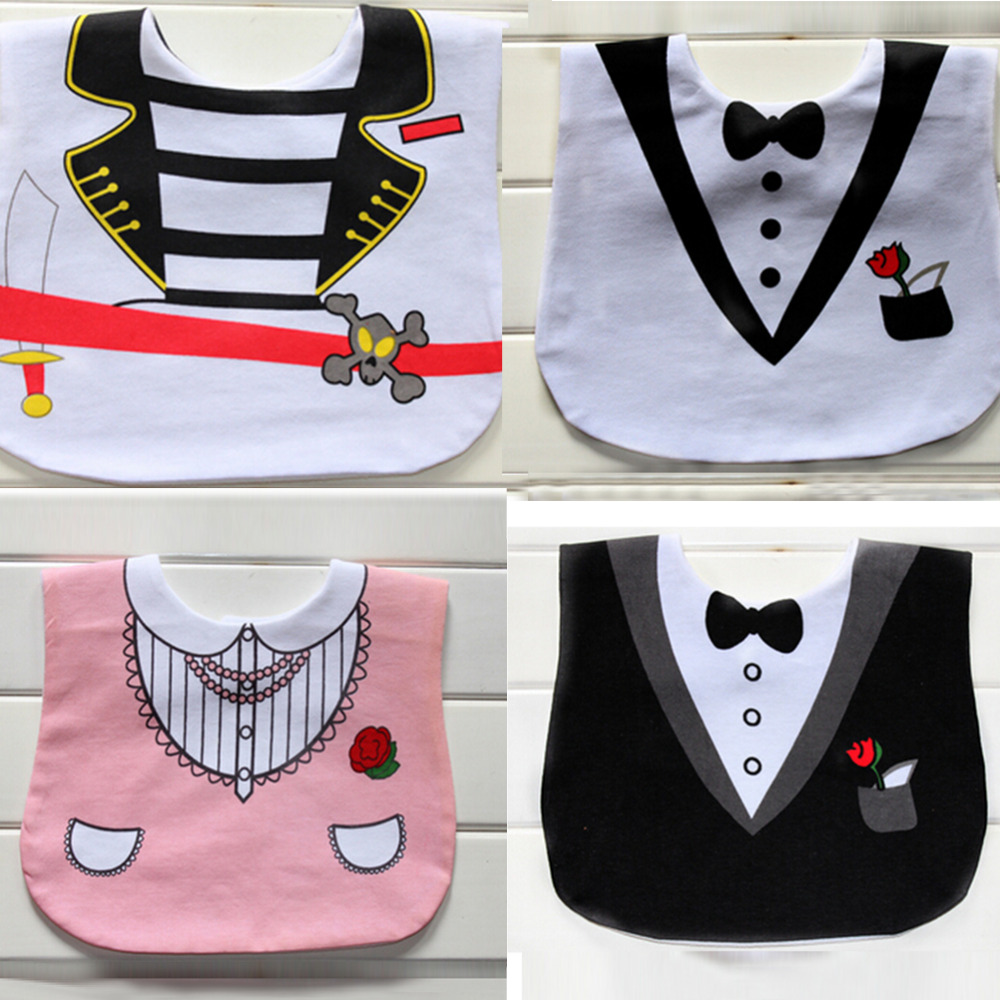Fashion newborn burp cloth Infant Saliva Towels baby dress modeling bib Waterproof baby bibs New Arrival 0-3 years