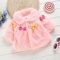 Осень зима мыса одежды новорожденного младенца зимние пальто детская одежда Всё для детей Одежда и аксессуары