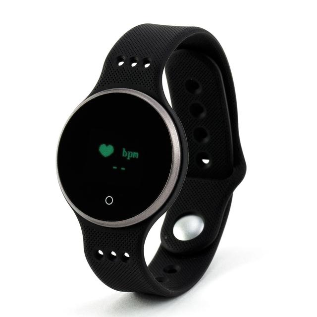 L9 Banda de la Muñeca Inteligente Pulsómetro Pulsera Elegante con Siri Pista Del Sueño Despertador Calculadora Cronómetro Calendario Smartwatch
