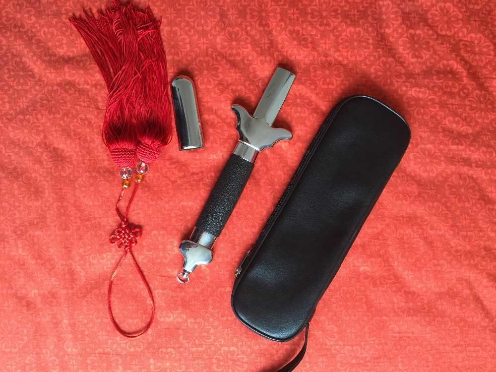 Performance Sword   Taiji Martial Art Martial Arts Training Telescopic Sword