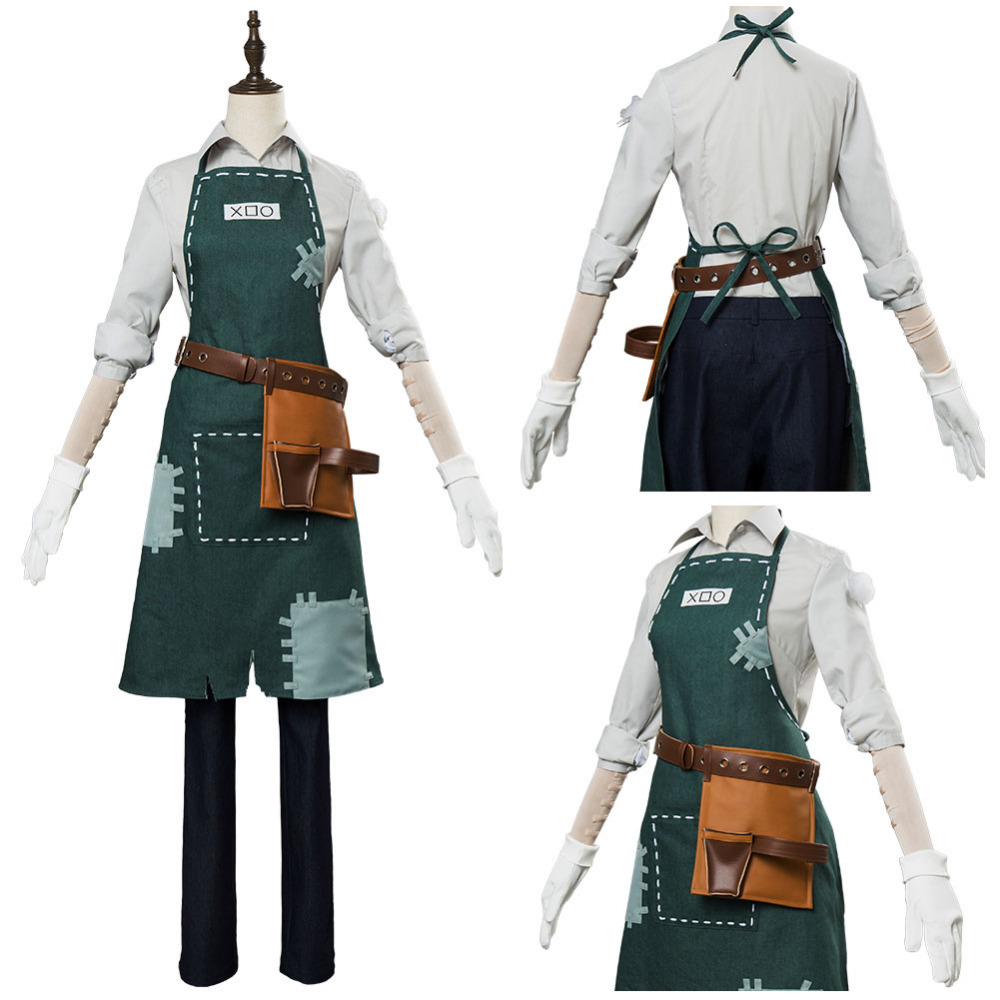 Game Identity V Gardener Cosplay Costume Uniform Halloween Caenival Costumes