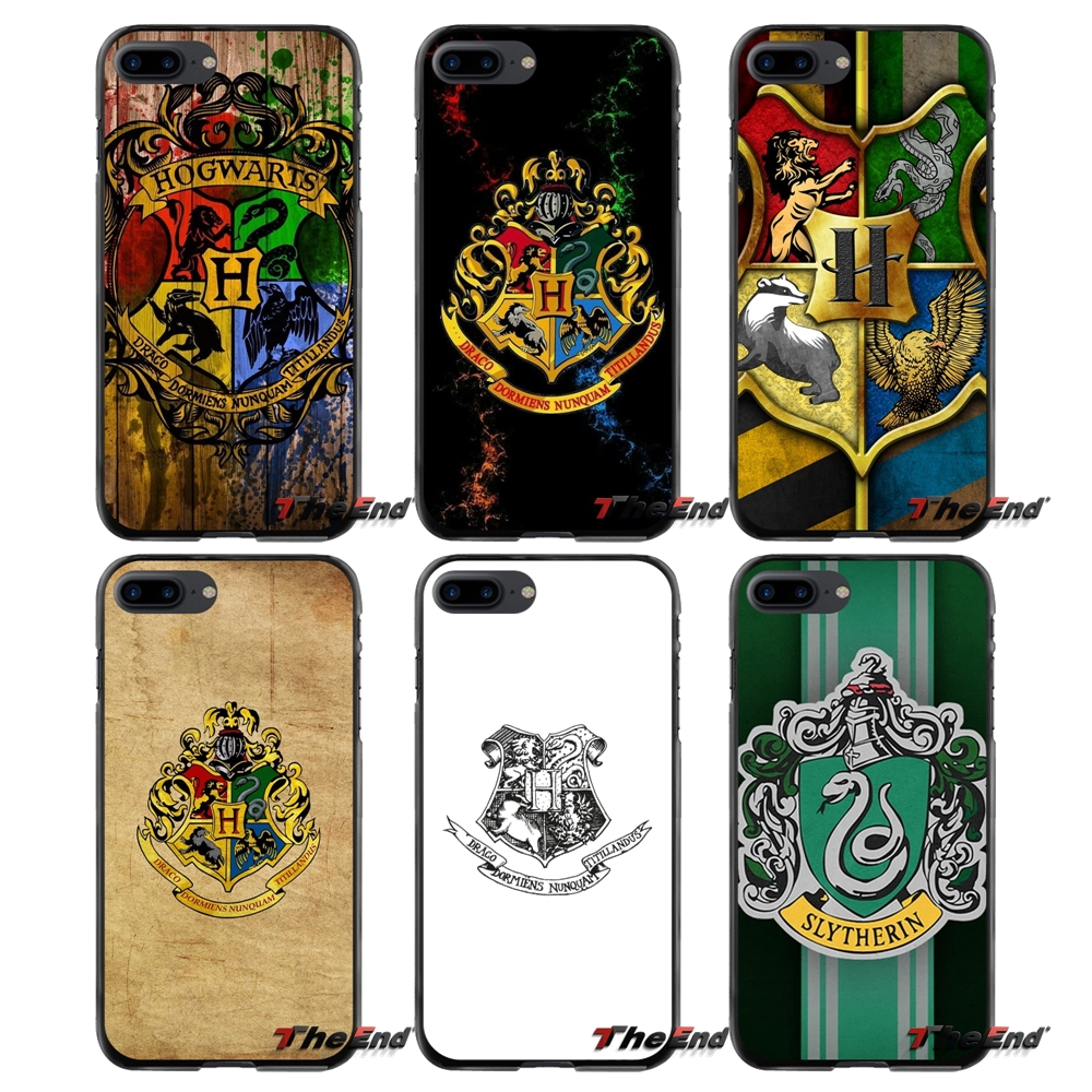 Accessories Phone Shell Covers For Apple iPhone 4 4S 5 5S 5C SE 6 6S 7 8 Plus X iPod Touch 4 5 6 Harry Potter Hogwarts Slytherin