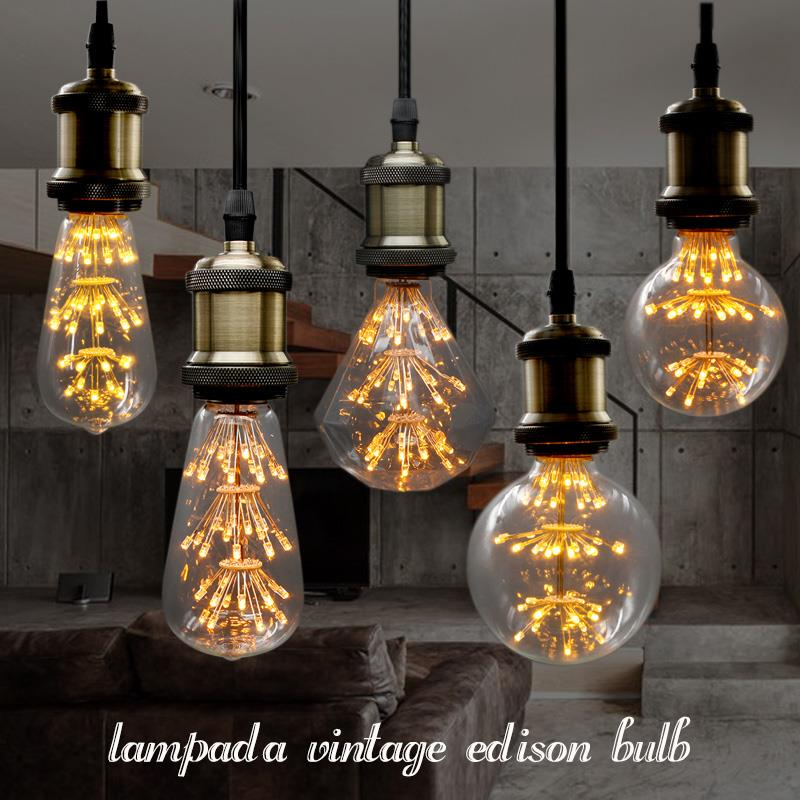 lampada led retro decorative filament edison light bulb style 110v vintage led e27 220v bulb lamp christmas tree lights indoor фигурка aliens xenomorph warrior arcade appearance 17 см