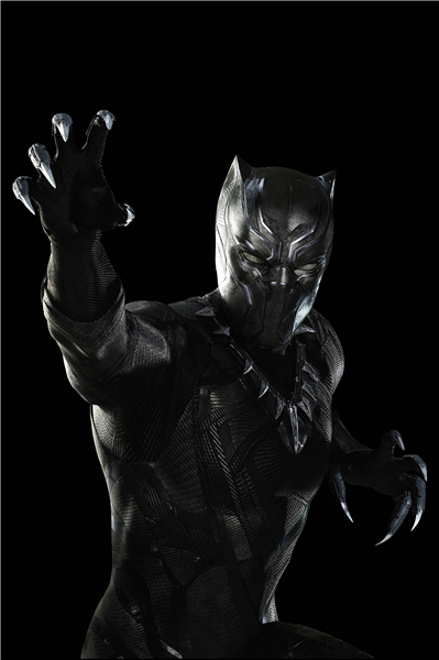 Custom Canvas Art Black Panther Mask Poster Marvel Wallpaper Super Hero Wall Stickers Avengers Sticker Mural Decoration 2888