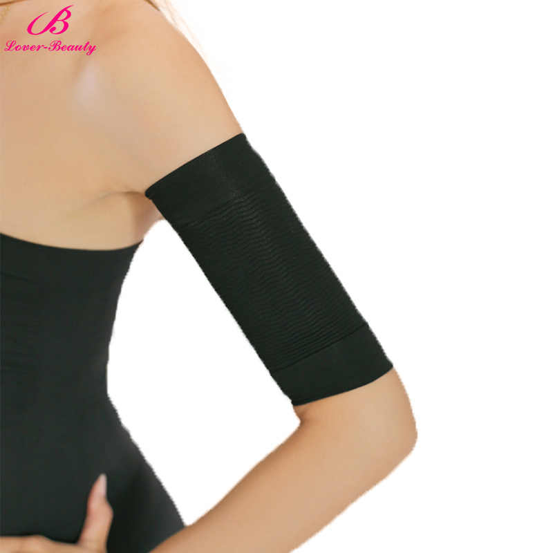 f5dc95594c4d1 ... Lover-Beauty One Pair Women Shapewear Thin Slimming Arm Sleeve Arms  Shaper Wrap Fitness Workout ...