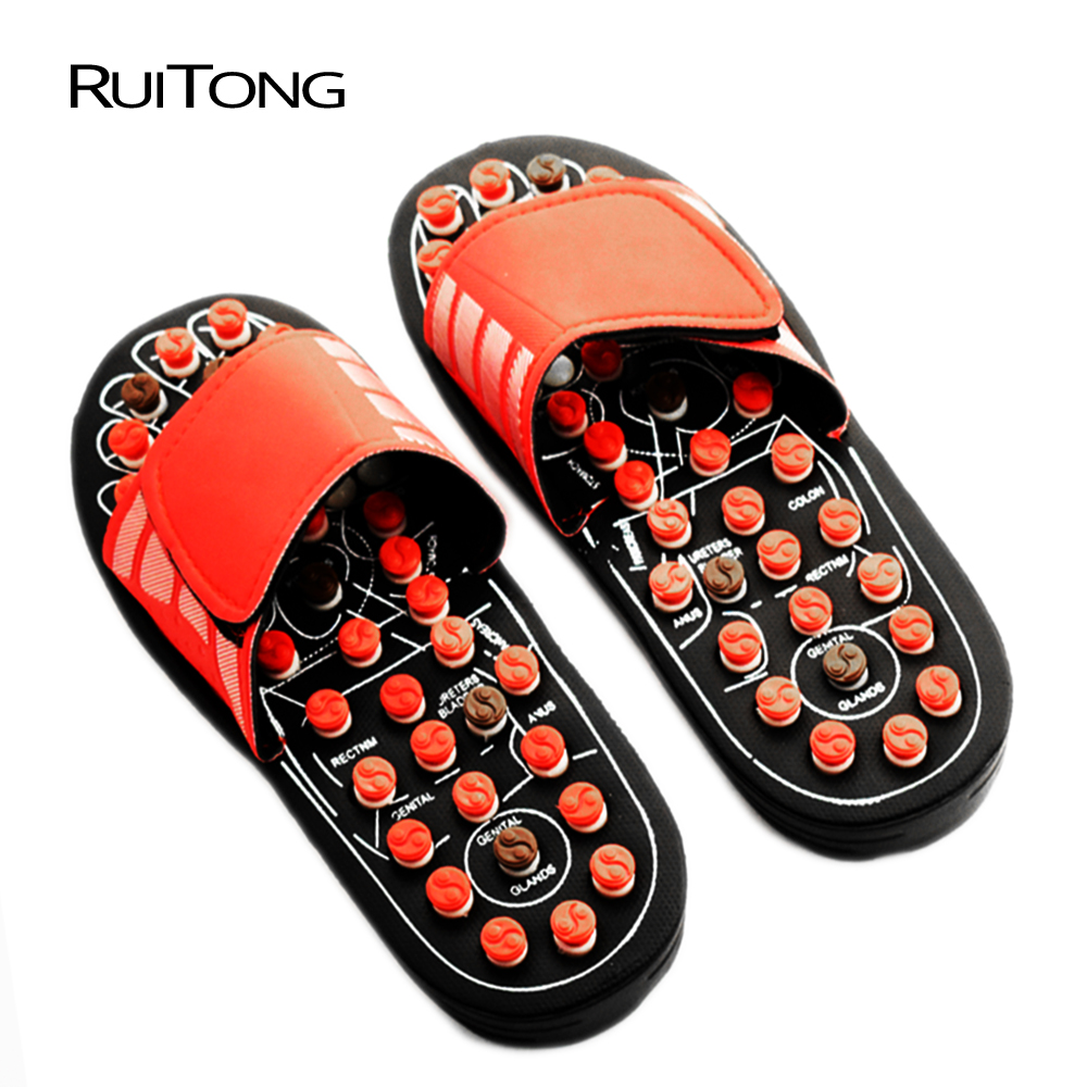 Foot massage acupressure Promote blood circulation reflex foot massage therapy slippers massager foot health massager toolsFoot massage acupressure Promote blood circulation reflex foot massage therapy slippers massager foot health massager tools