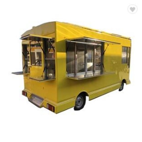4.2m Length Food Cart Mobile Food Truck Ice Cream Food Cart Food Trailer Can Be Customized