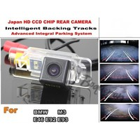 Car Intelligent Parking Tracks Camera / For BMW M3 E46 E92 E93 HD CCD Back up Reverse Camera / Rear View Camera