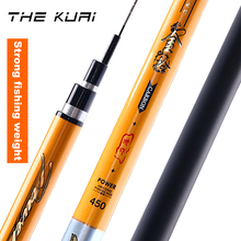 THEKUAI High Carbon Taiwan Fishing Rod 28 Tonality Ultra Light Super Hard Carp Rods Weight 3Kg Stream