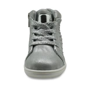 Image 3 - Apakowa marka yeni çocuk ayakkabı Pu deri çocuk ayakkabıları kızlar için bahar sonbahar kızlar ayakkabı ile kristal kemer desteği ayakkabı