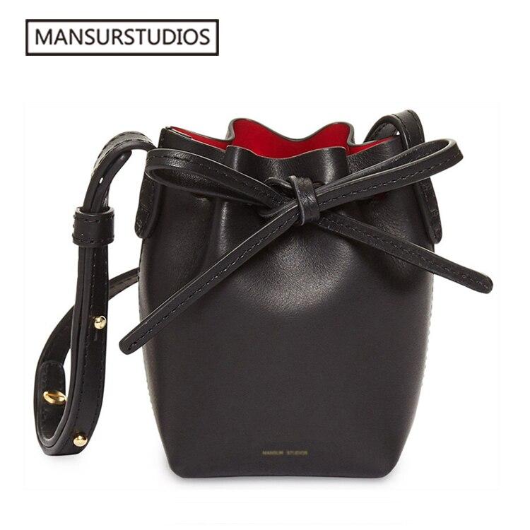 Le plus récent MINI sac à bandoulière en cuir pour femmes MANSURSTUDIOS, sac à bandoulière en cuir pour femme gavriel, livraison gratuite