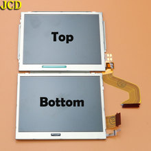 JCD 1pcs For Nintend DSi for NDSi replacemeny Parts Top Bottom Upper Lower LCD Screen Display
