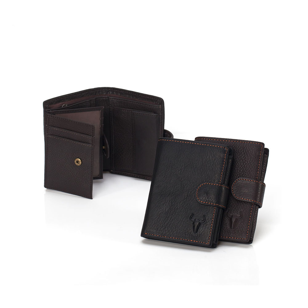 ФОТО Vintage Men's Wallets Vintage Oil Wax Genuine Leather Purse Bifold Wallets Card Holder Men Organizer Wallet Cowhide Short Wallet