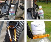 Карабин пешие кемпинга пряжки выживания прогулки бутылки крюк кемпинг клип путешествия