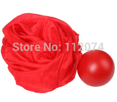 ФОТО Perfect Silk to Ball Red (Automatic) ver3 -Trick ,Silk Changes Into a Ball Magic Tricks,Gimmick,Props,Comedy,Mentalism