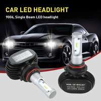 CSP LED Chips Car Headlights Kit For H1 H4 H7 H11 9006 S1 50000mW 2400000mcd 6000K
