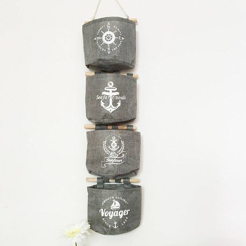 1 шт., сумка для хранения из хлопка и льна