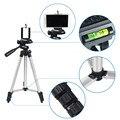 Venta caliente 3110 universal trípode portátil cámara digital videocámara trípode de aluminio ligero para canon nikon sony teléfonos