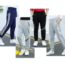 Новейший стиль, весна-осень 2019, штаны для мальчиков, детские штаны, штаны для бега, спортивные штаны, детская одежда, одежда для детей