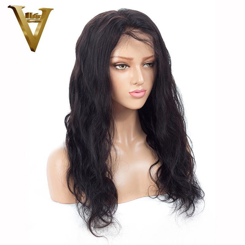 Lace Wigs Simbeauty 360 Lace Frontal Human Hair Wigs Brazilian Remy With Baby Hair Pre-plucked Wigs Glueless Bleach Knots Brown Body Wave Hair Extensions & Wigs