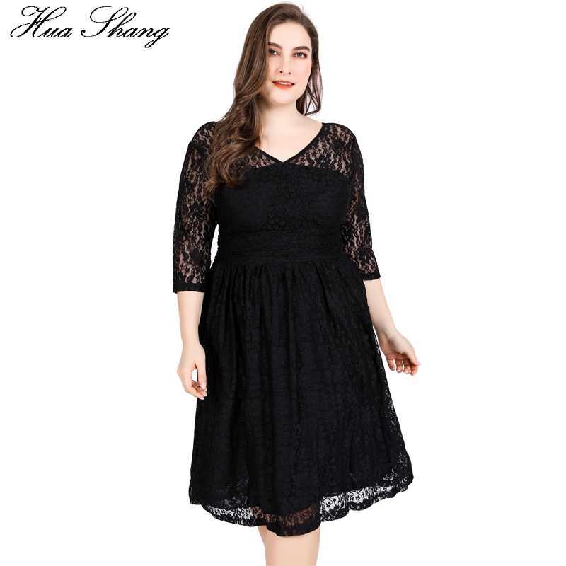 4c3a5ad8564 Черное кружевное платье миди Для женщин Лето V шеи выдалбливают Половина  рукава V спинки сексуальные вечерние