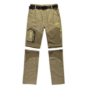 Image 3 - NUONEKO Quick Dry Removable Hiking Pants Outdoor 6XL Mens Summer Breathable Shorts Men Mountain Camping Trekking Trousers PN09