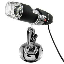 Promo offer 2MP USB digital Microscope 50x 500x 8 LED usb Microscope Video Camera Stand Electron Microscopy usb magnifier