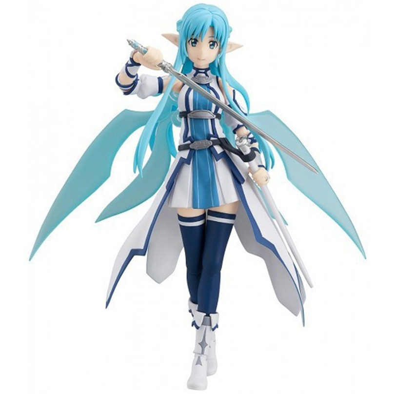 Anime Sword Art Online Asuna Figma Action Figure Collectible Model PVC Toys 15cm