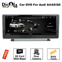 IPS 2Gb Ram 10.25inch Android 6.01 Car Dvd Gps Radio For Audi A5 Q5 A4L 2009 2016 Vedio Stereo Head Unit PC Multimedia Navi 4G