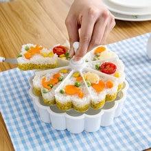 Fabricant de moules à Sushi créatif avec pelle, outil de fabrication de riz, Bento cuit, accessoires de cuisine, 8 sorties