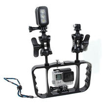 Dual Arm Scuba Diving Tray Stabilizer Mount