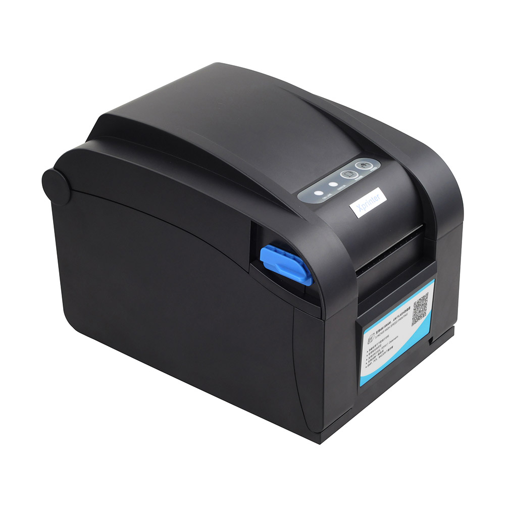 Thermal label printer Thermal barcode printer USB+Ethernet Serial suit for the thermal label paper between 20-82mm thermal printer free 1 printer paper for contec multi parameter patient monitor