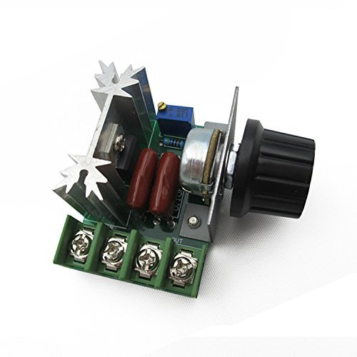 3000W Thyristor Power Electronic Voltage Regulator