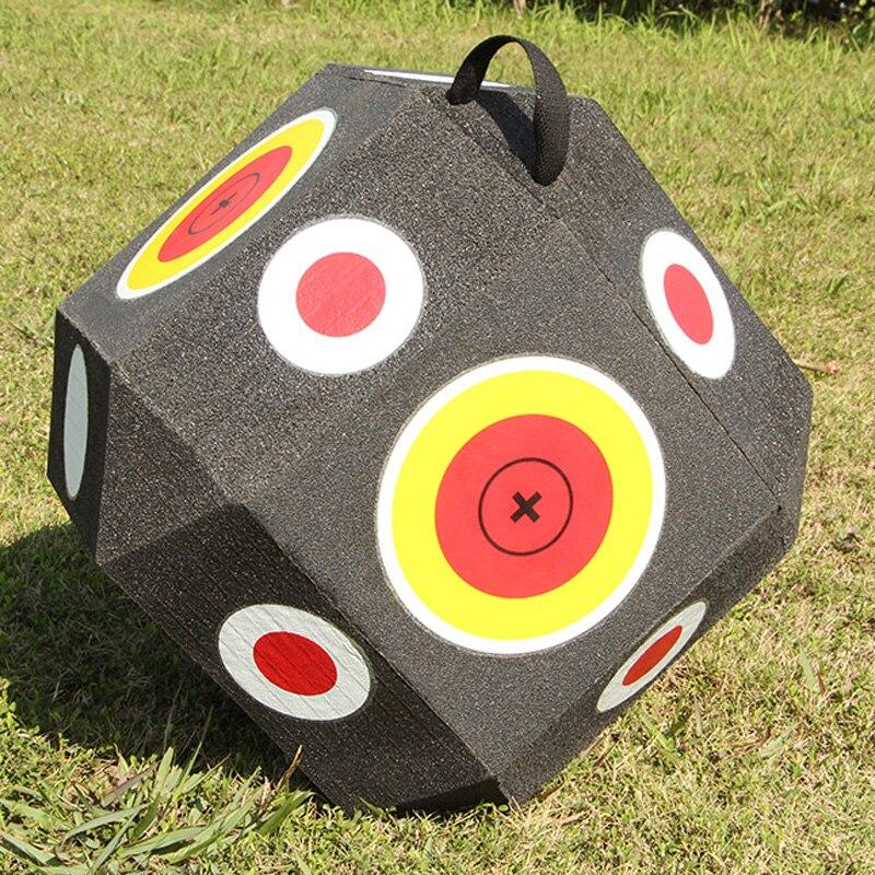 Grand Cube 3D tir à l'arc réutilisable tir à l'arc tir à l'arc combinaison arc courbe composé cibles de chasse pour tous les Types de flèches G170