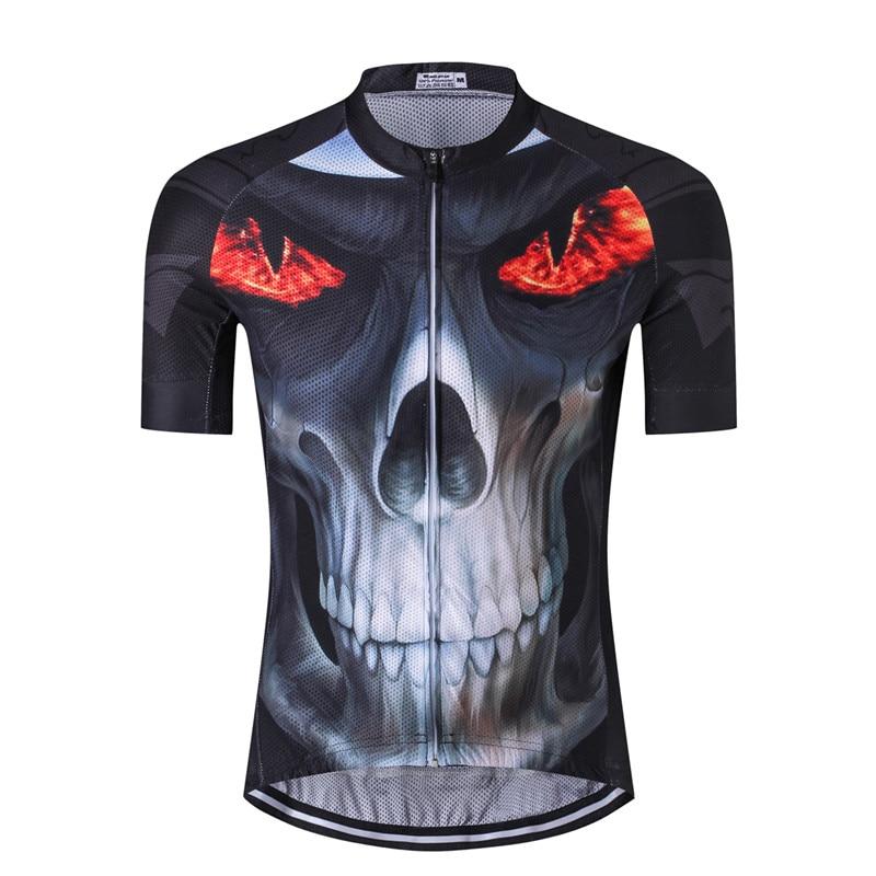 7019b9bb7 Weimostar Cycling Jersey Skull Cycling Clothing Summer Short Sleeve Road Bike  Jersey MTB Bicycle Clothing Cycle Clothes Ciclismo-in Cycling Jerseys from  ...