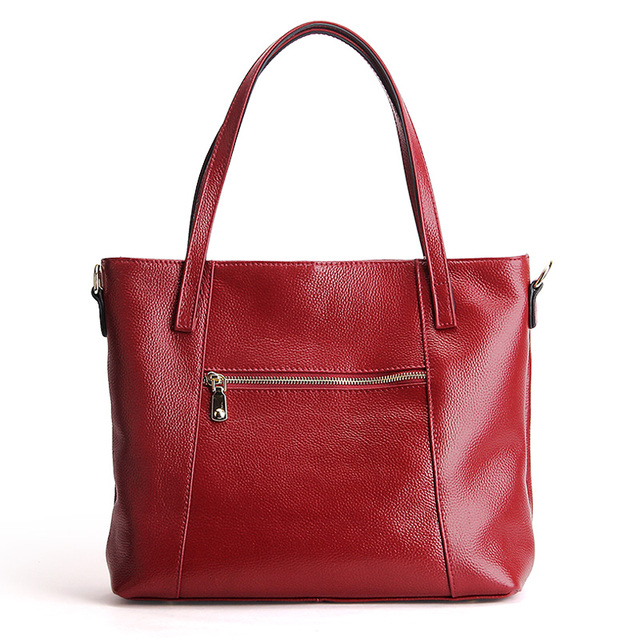 100% Natural Leather Fashion Handbag 4
