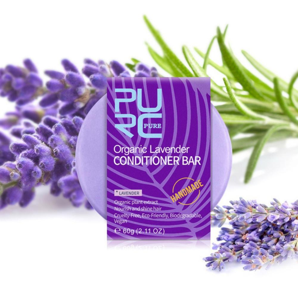 Household Handmade Bathroom Practical No Chemicals Handmade Lavender Scent Hair Care Soap Body Soap