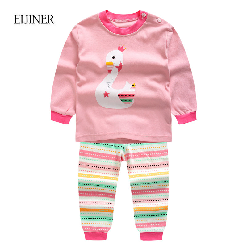 2pcs Newborn Baby Clothing Set Autumn 2017 New Baby Boy Clothes Long Sleeve Baby Boy Girl Clothes Set Cotton Infant Suit Set