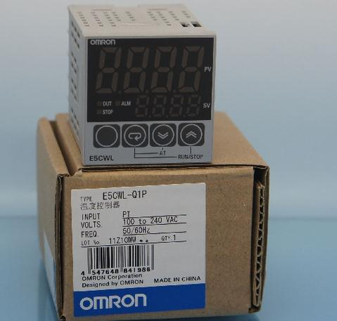 New and original   E5CWL-Q1P   OMRON      AC100-240 Temperature controller new and original e3x da11 s omron optical fiber amplifier photoelectric switch 12 24vdc