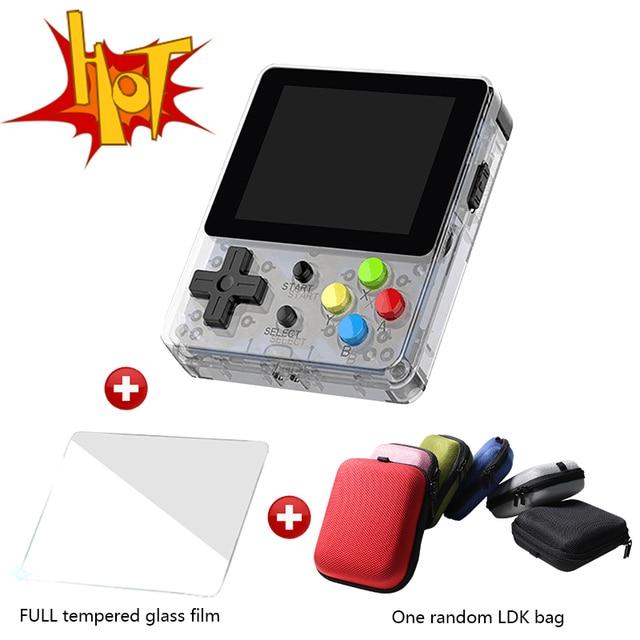 حزمة كبيرة وحدة تحكم مفتوحة المصدر لعبة LDK شاشة 2.6 بوصة وحدة تحكم ألعاب صغيرة محمولة باليد للأطفال والأسرة